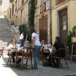 Испания. Улицы старой Жироны