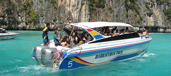 Поездки на спидботе к островам Тайланда