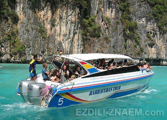 Тайланд: на спидботе к островам