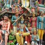 Храмы Сингапура: индийский храм Sri Mariamman
