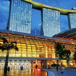 """Удивительный отель """"Марина Бэй Сэндс"""" в Сингапуре"""