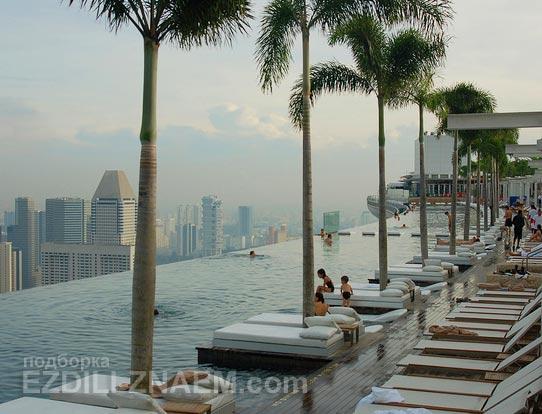 "Сингапур. Отель ""Марина Бэй Сэндс"""