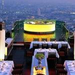 """Лучшие отели Бангкока: на крыше отеля """"Лебуа"""""""