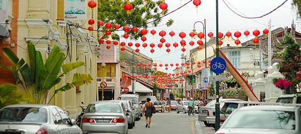Остров Пенанг. Китайский Новый год в Джорджтауне. Малайзия