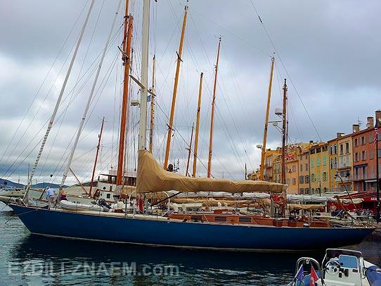Яхты в Сан-Тропе. Франция